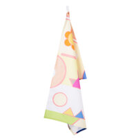Lemon Meringue Cotton Drill Tea Towel