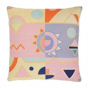 Pink Fizz Extra Large Cushion
