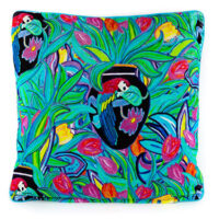 Enchanted Turquoise Velvet Cushion