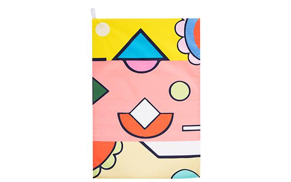 Guava Cotton Drill Tea Towel Full Pattern