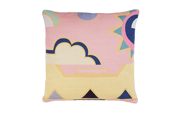 Custard Cloud Extra Large Cushion