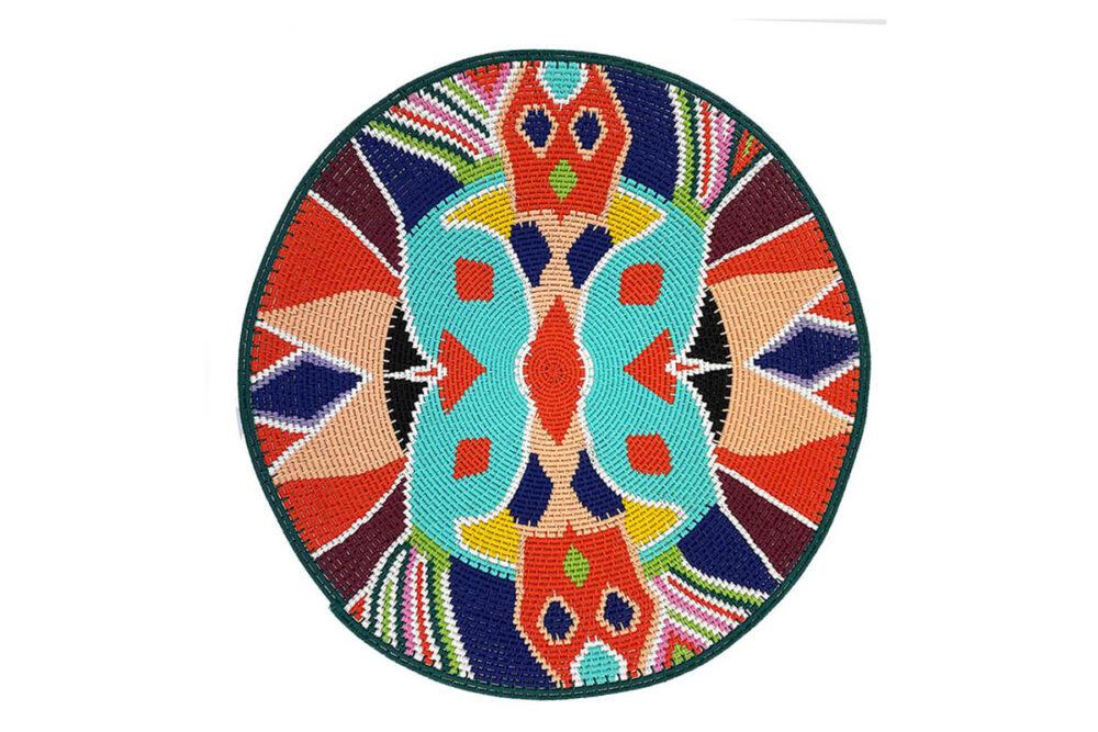 UBUNTU COLLECTION - butterfly woven platter