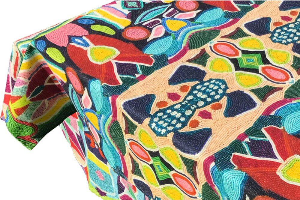 UBUNTU COLLECTION - Cotton Tablecloth 'Zandi'